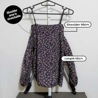 🚚 Long sleeve off shoulder blouse