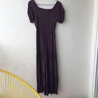 🌻 Offshoulder Maxi Dress