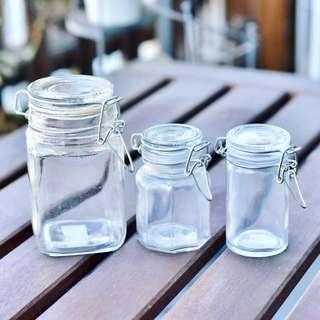 玻璃瓶 密實瓶 透明