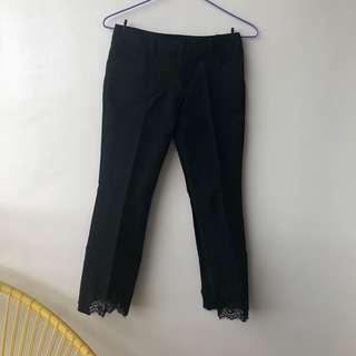 🌻 Lace Black Slacks