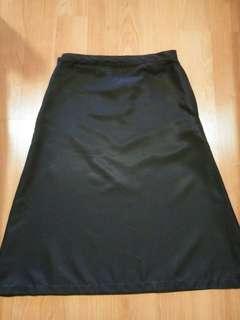 Black Skirt Cotton