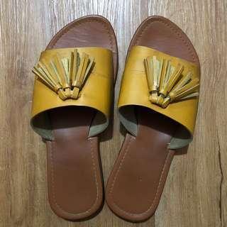 🌻Mustard Slippers