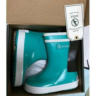 AIGLE Rain Boots ( 100% New ) for kids