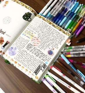 🚚 Bullet Journal Grabbag!