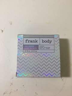 FRANK BODY shimmering lip scrub