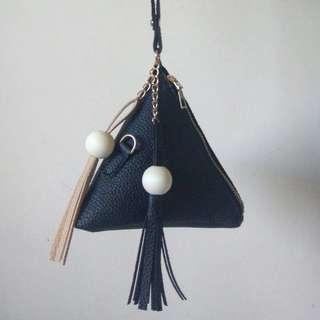 💫CUTE CLASSY TRIANGLE PURSE CLUTCH BAG WITH TASSLES💫