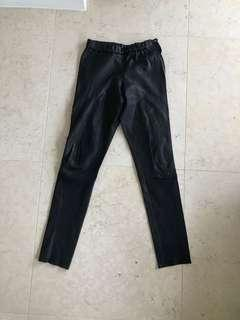 Leather Tights - John & Yoko Size 40