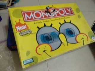 🚚 Monopoly spongebob square pants