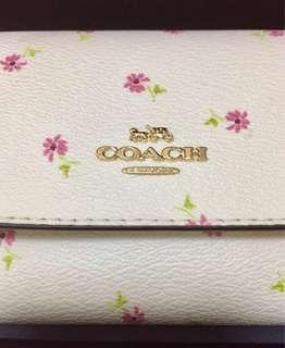 BRAND NEW 100% Original Coach Floral Bloom Wallet Gift Sept