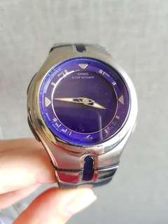 Casio dark purple watch