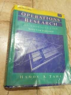 Operations Research textbook