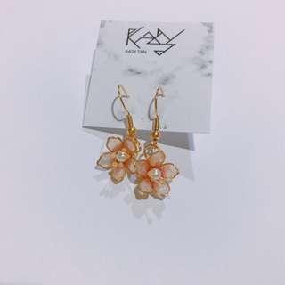 Plum blossom earring