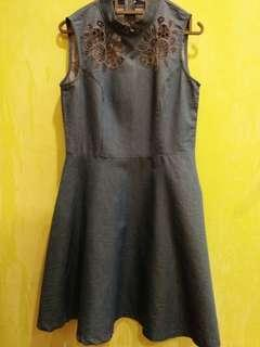 Limitted Edition Jeans Cheongsam Dress
