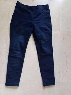 M&S blue skinny jeans