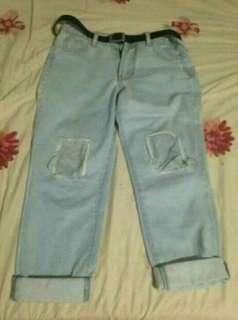 Celana jeans benefit m fit to L
