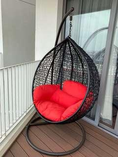 Rattan Swing Chair (no brand, Very very good condition)
