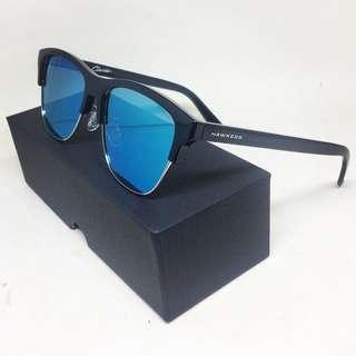 HAWKERS | DIAMOND BLACK • BLUE CHROME CLASSIC FLAT