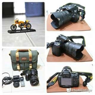 🚚 Nikon D5000 +lens 18-70