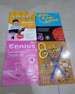 Primary 4 exercise books