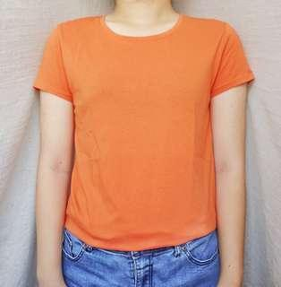 Basic Orange Shirt
