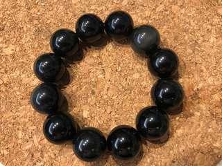 黑耀石手鏈 Obsidian Bracelet