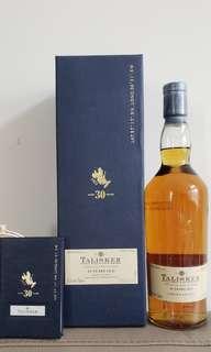 珍藏系列 Talisker 30年 2009年版本 Whisky Scotch 威士忌 蘇格蘭