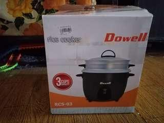 Dowell Rice Cooker 3cups