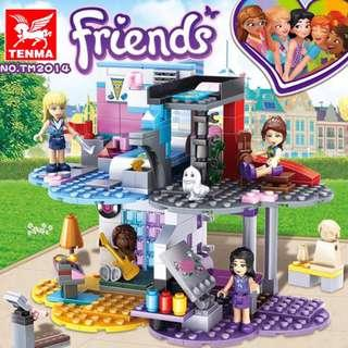 TENMA™ 2014 Friends 4in1 Room Combined Set