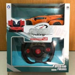 Remote Control Car orange Lamborghini Veneno 1:16 speed racing birthday Christmas gift