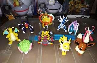 Pokemon Tomy Figure Bundle