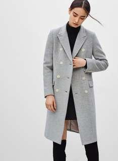 Babaton Bryan wool coat