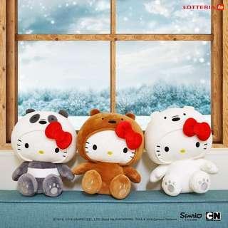 🚚 Hello Kitty We Bare Bears
