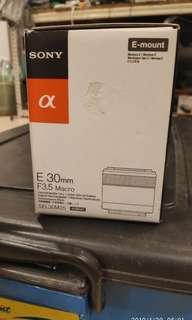 Sony sel30m35 macro lens