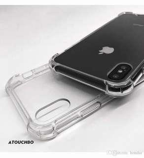 iPhone 7/7P/8/8P/X/XR/XS/XSMAX Clear Phone Case