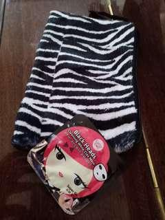Cathy doll plus zebra poach