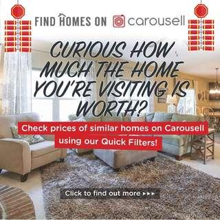 Curious how much the home you're visiting is worth?