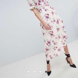 BN ASOS Wrap Skirt