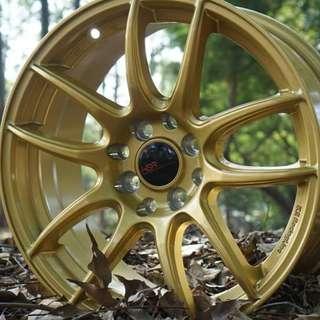 Velg Mobil Kamikaze 988 Ring 16 x 7 GOLD
