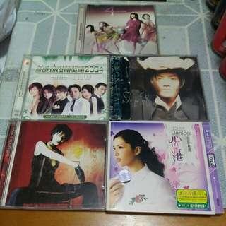 二手 CD 5隻