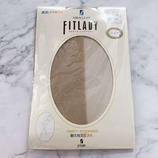 日本Fitlady肉色/膚色絲襪 x8