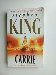 Novel - Carrie (Stephen King)