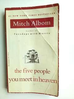 Novel - The Five People You Meet In Heaven( Mitch Albom)