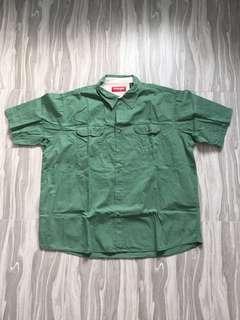 Wrangler Green Shirt (plus size)