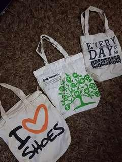 Tote Bags (Get all for 500!)