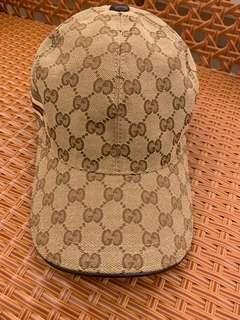 全新 正品 Gucci 棒球帽 老帽