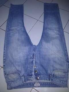 Celana jeans merk ex ceterna ori