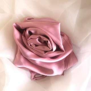 Heavy Satin Silk Shawl