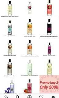 Parfum by the body shop