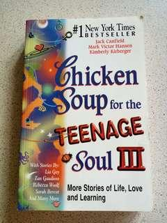 🚚 CHICKEN SOUP FOR THE TEENAGE SOUL 3📚