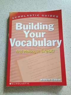 🚚 BUILDING YOUR VOCABULARY
